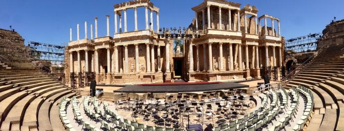 Teatro Romano de Mérida | IMAGEN: @jalfocea