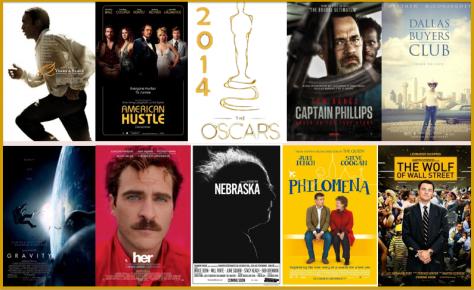 Nominadas a Mejor Película Oscar 2014