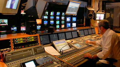 Sala de control de TV3 - © Pep Ribas