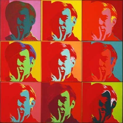 Autorretrato | Andy Warhol | Pop Art | 1966