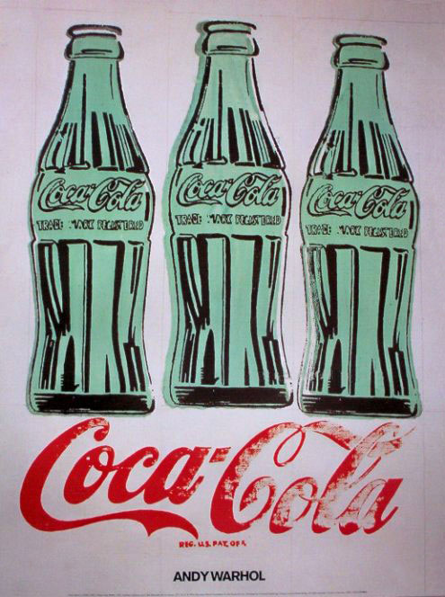 Coca-Cola 3 bottles | Andy Warhol | Pop Art | 1962