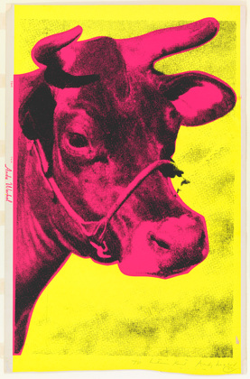 Cow | Andy Warhol | Pop Art | 1966