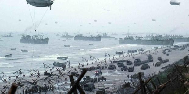 El Desembarco de Normandía (Escena de la película Salvar al Soldado Ryan, de Steven Spielberg)