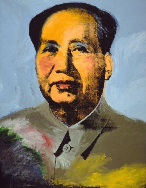 Mao, por Andy Warhol   1973