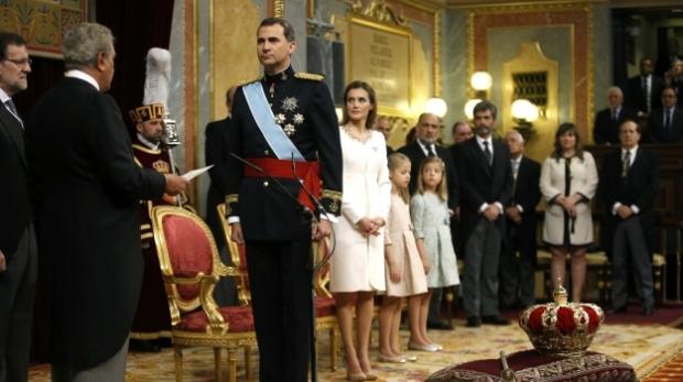 Proclamación Felipe VI Rey de España 19 de junio de 2014