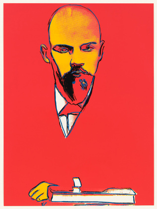 Red Lenin | Andy Warhol | Pop Art | 1987