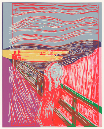 Te Scream (after Munch( | Andy Warhol | Pop Art | 1984