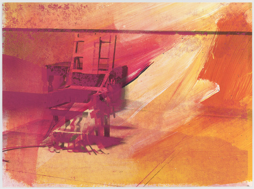 Untitled fron Portfolio Electric Chairs | Andy Warhol | Pop Art | 1971