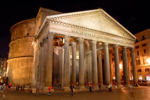 Panteón de Agripa - Roma, Italia