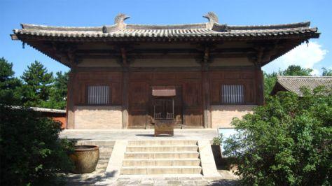 Templo de Nanchan (Wutaishan, China)